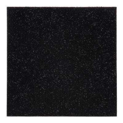 Nexus Jet 12 in. x 12 in. Peel and Stick Carpet Tiles (12 Tiles/Case)