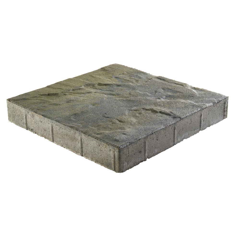 Taverna Square 16 in. x 16 in. x 2 in. Bluestone Concrete Step Stone (72 Pieces/124 sq. ft./Pallet)