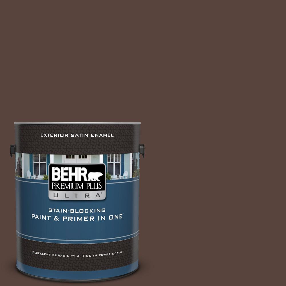 BEHR Premium Plus Ultra 1 Gal. #S-G-790 Bear Rug Satin