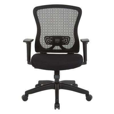 CHX Dark Breathable Mesh Back and Padded Mesh Seat Managers Chair