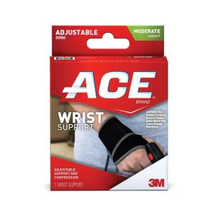 Ace One Size Adjustable Wrist Support by Ace