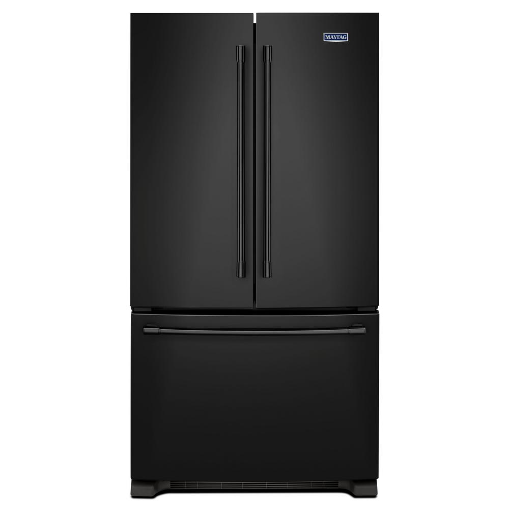 Samsung 25 5 Cu Ft French Door Refrigerator In Black