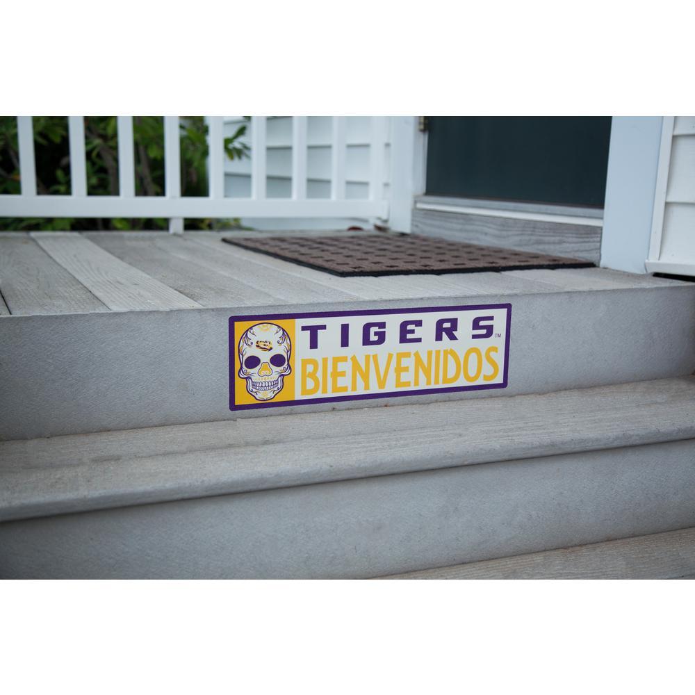 NCAA LSU Tigers Bienvenidos Step Graphic