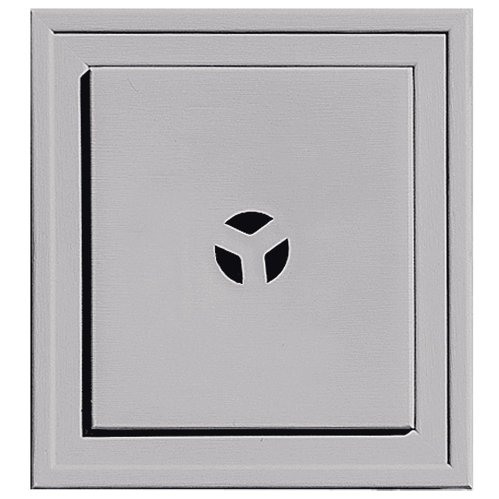 7.3125 in. x 7.9375 in. #016 Gray Slim Line Mounting Block