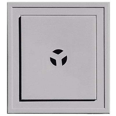 7.9375 in. x 7.3125 in. #016 Gray Slim Line Universal Mounting Block