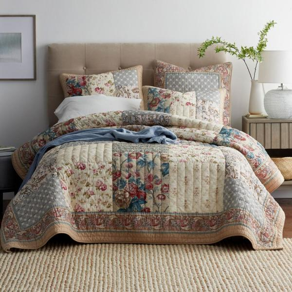 The Company Store Charleston Cotton King Quilt 50381Q-K-MULTI