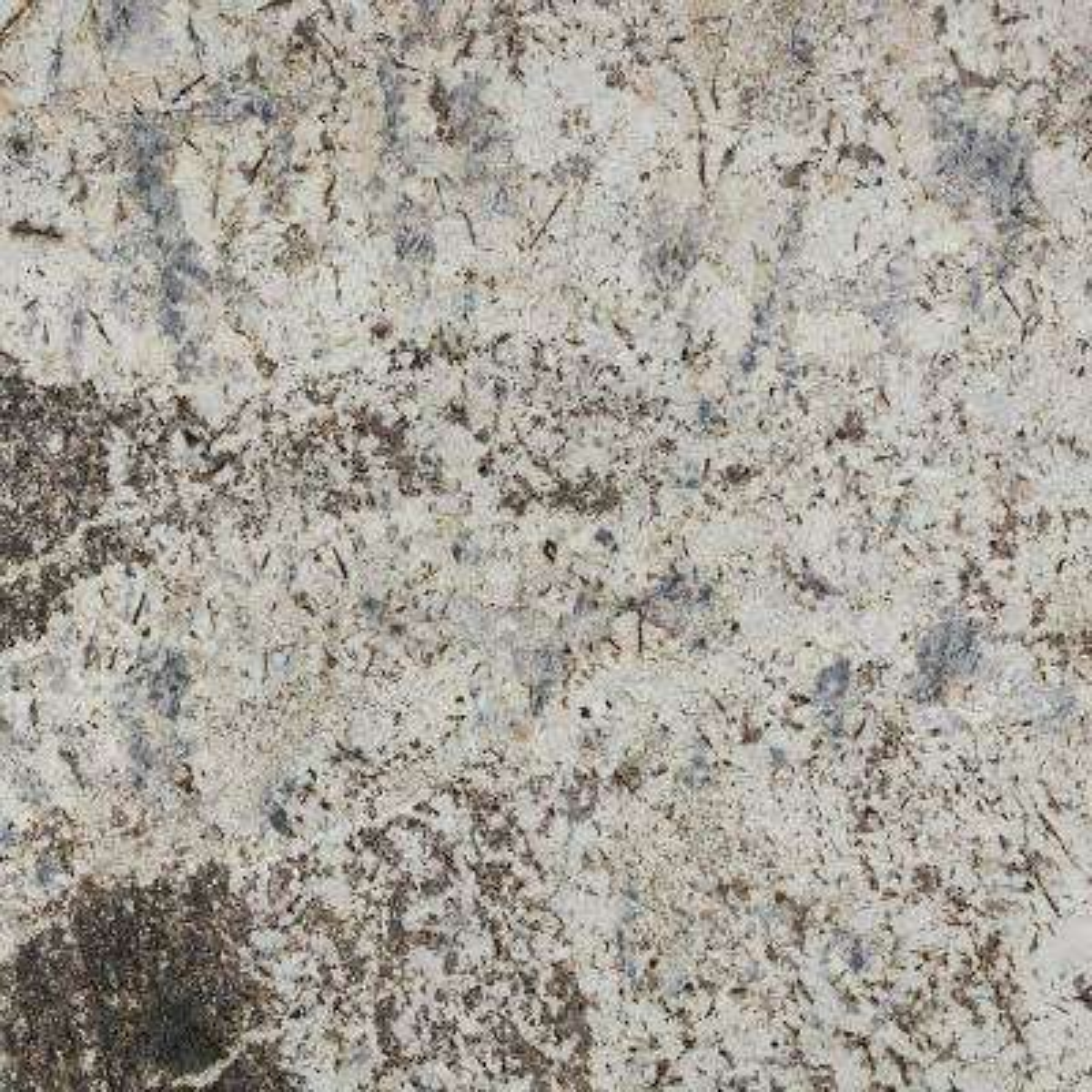 3 in. x 3 in. Granite Countertop Sample in Blue Galaxy