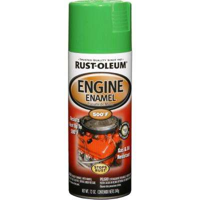 12 oz. Semi-Gloss Grabber Green Engine Enamel Spray Paint (6-Pack)