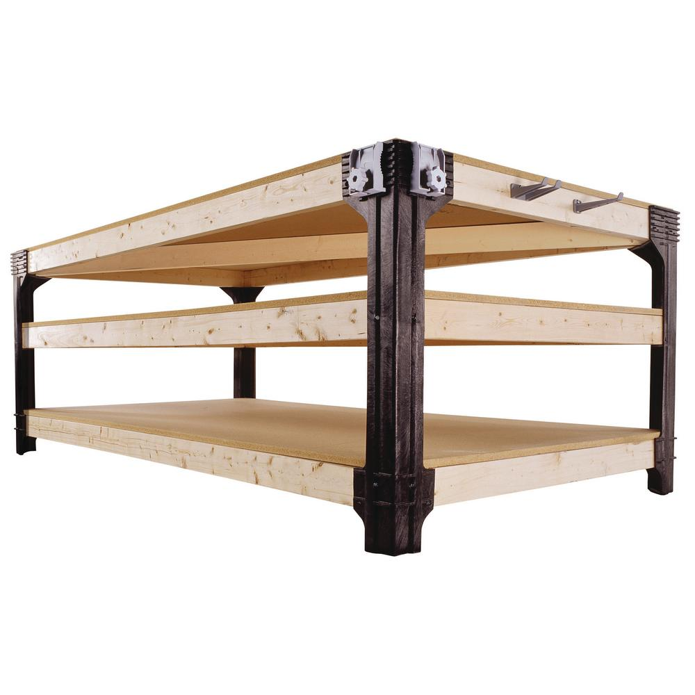2 x 4 Basics Workbench, Black-90158 - The Home Depot