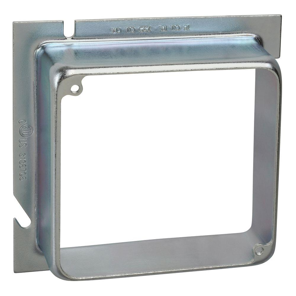 5 in. Square to 4 in. Square EXT Ring 1-1/4 in.