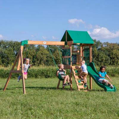 Buckley Hill All Cedar Swing Set