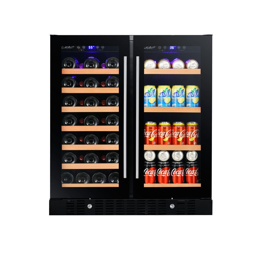 2-Door Beverage Cooler (Glass)