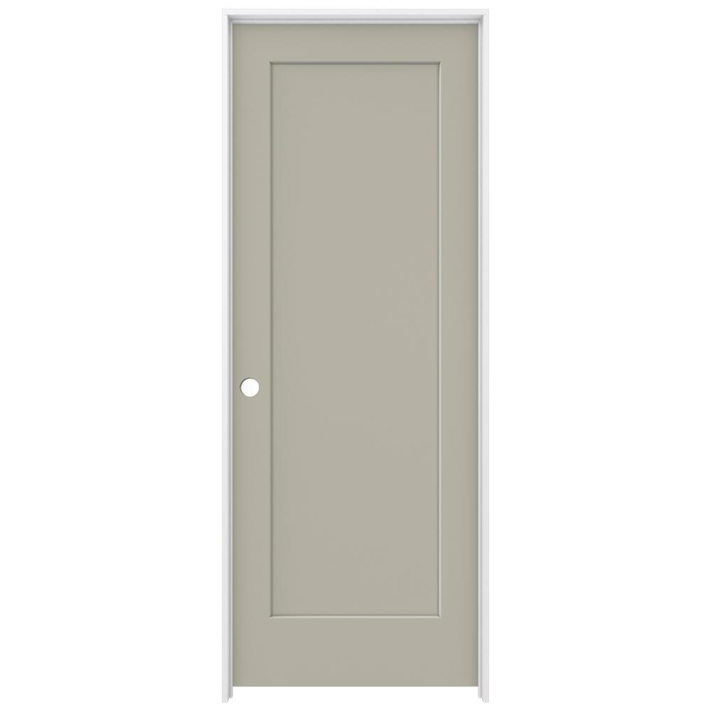 Jeld Wen 32 In X 80 In Madison Desert Sand Right Hand Smooth Solid Core Molded
