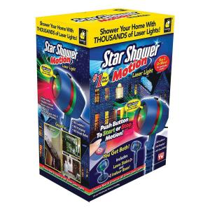 Star Shower Motion Laser Light Projector 10639 6 The
