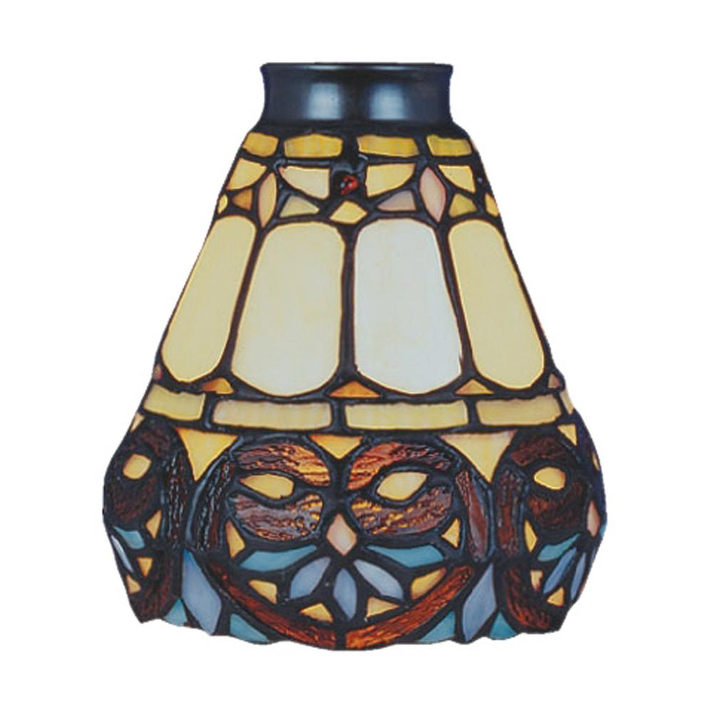 Titan Lighting Mix-N-Match 1-Light Multicolor Flowered