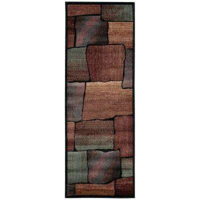 Expressions Multi 2 ft. x 6 ft. Runner Rug
