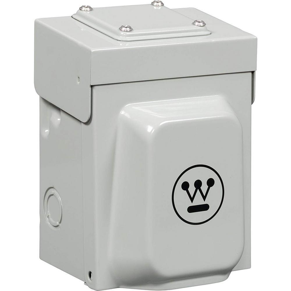 Westinghouse 30 Amp Heavy-Duty Generator Power Inlet Box on