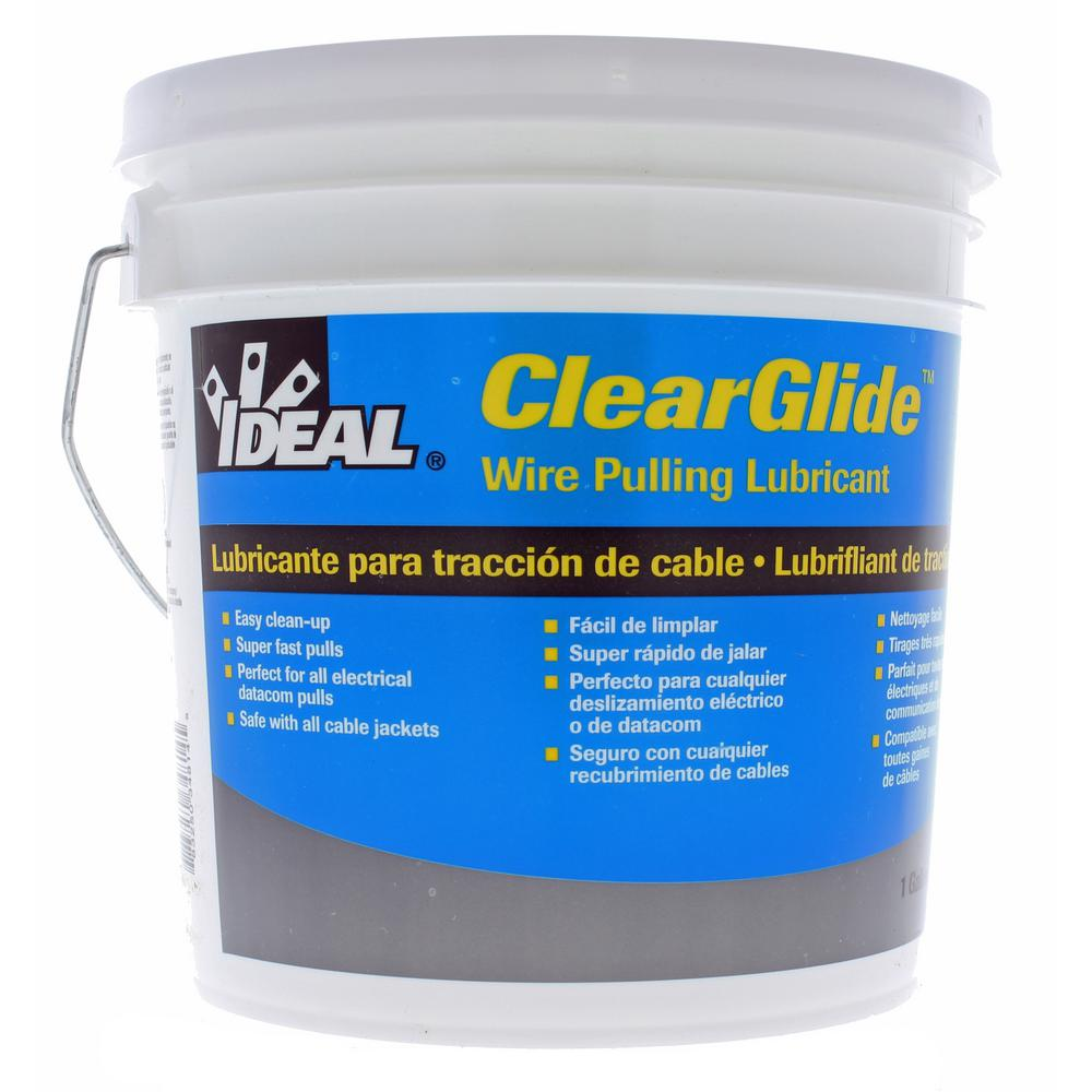 Ideal 1 Gal. ClearGlide Pulling Lubricant-31-381 - The Home Depot