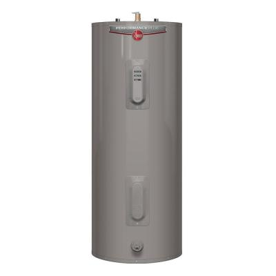 Performance Plus 50 Gal. Medium 9 Year 5500/5500-Watt Elements Electric Tank Water Heater with LED Indicator