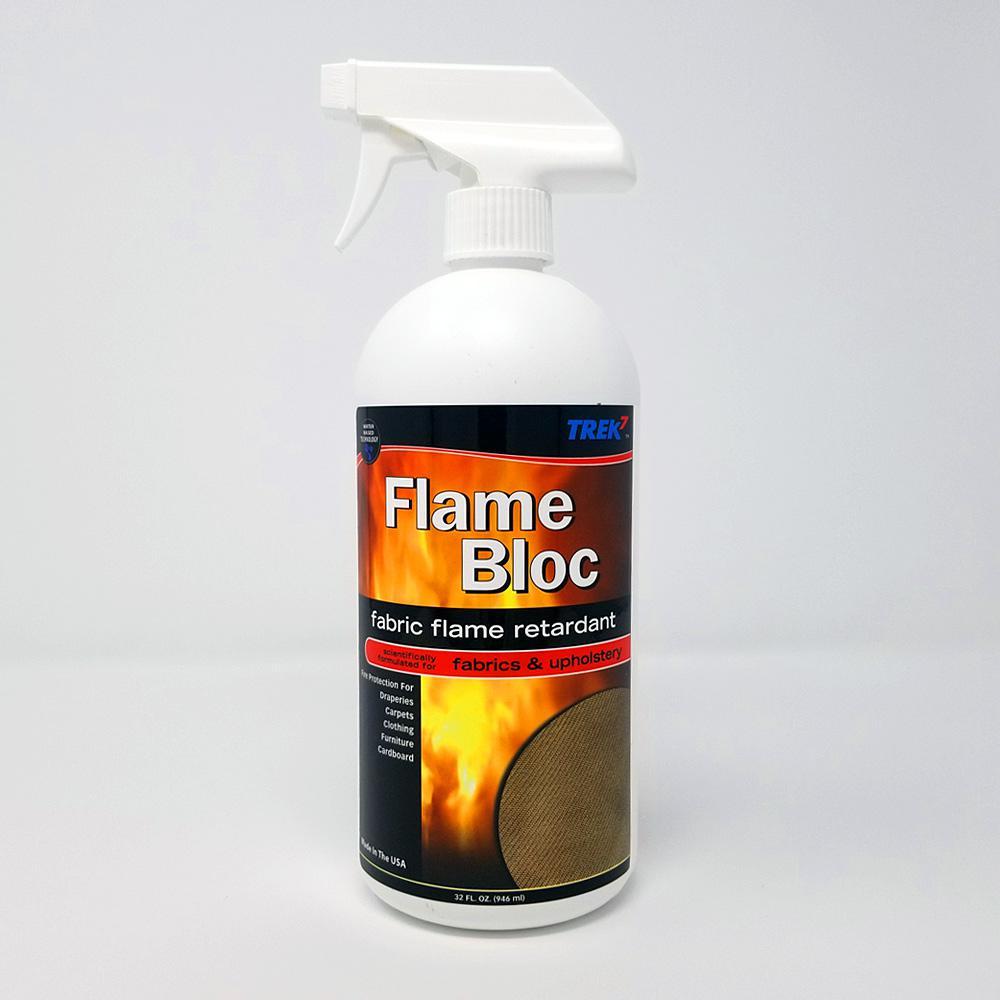 Trek7 Flame Bloc Fabric Protector 32 oz
