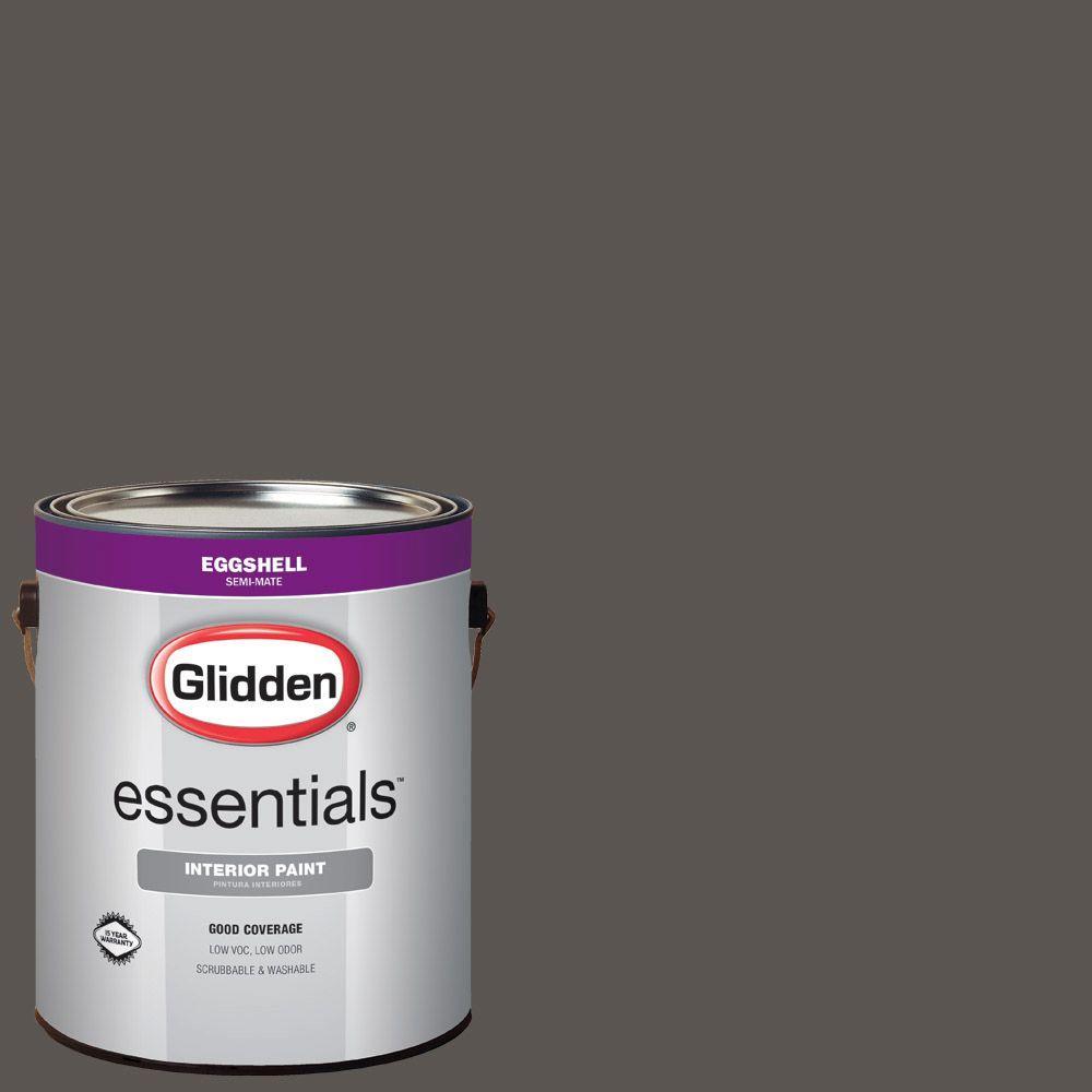 1 gal. #HDGCN52 Forest Black Eggshell Interior Paint
