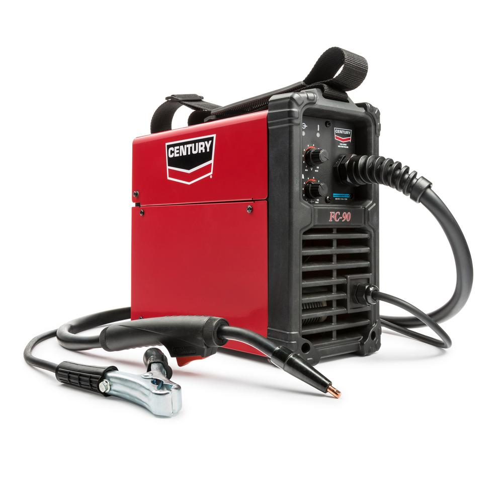 Century Century 90 Amp FC90 Flux Core Wire Feed Welder and Gun, 120V