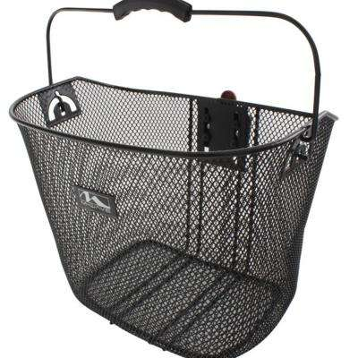 Reinforced Quick Release Wire Bicycle Basket