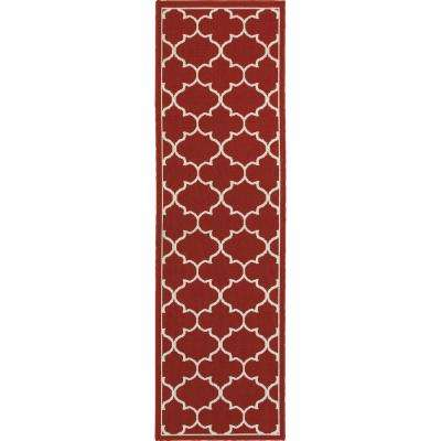 Valley Red 2 Ft. 3 In. X 7 Ft. 6 In. Indoor