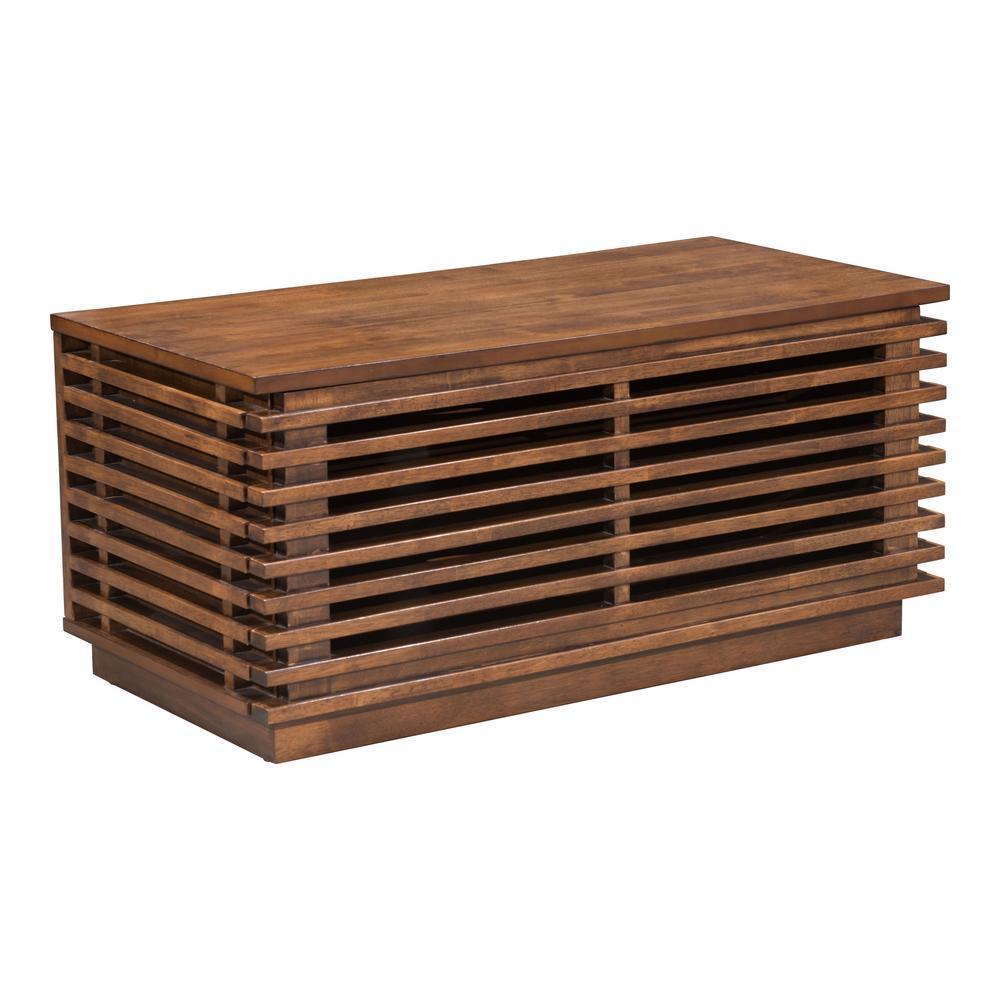 Linea Walnut Console Table