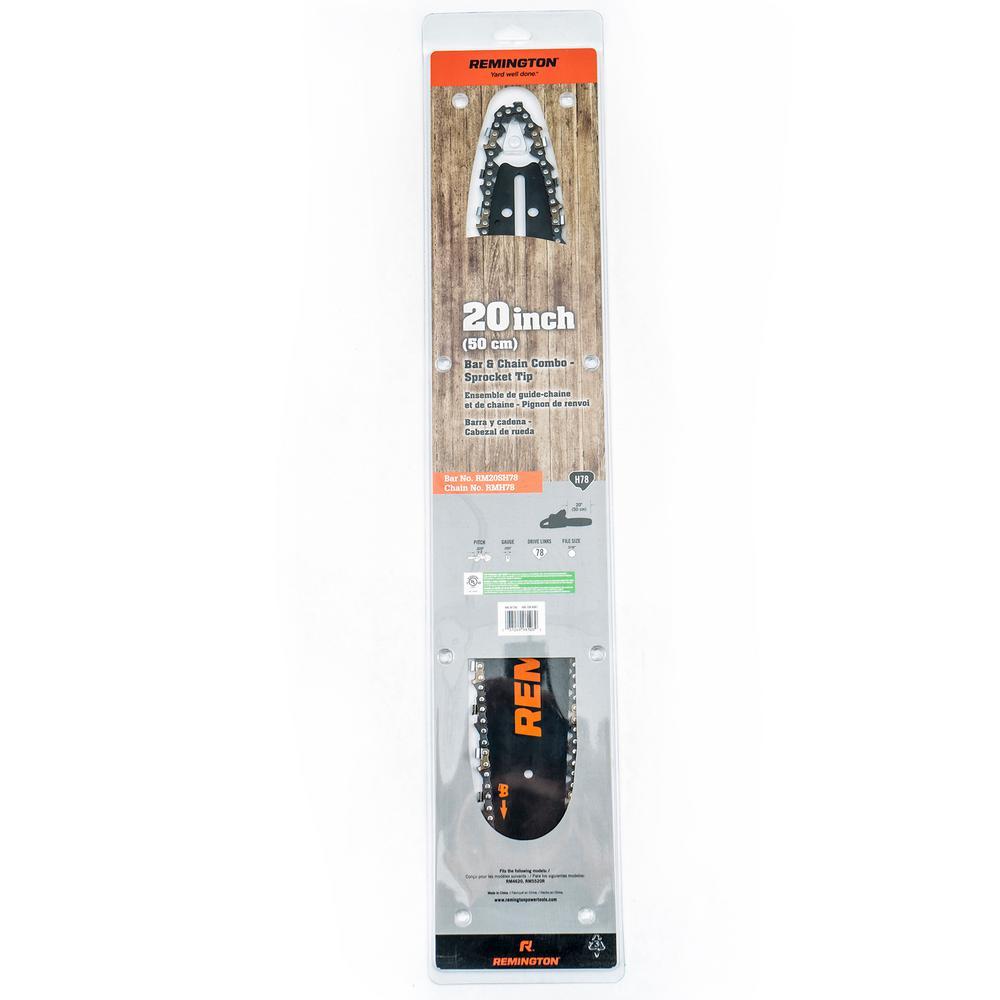 "NEW Remington 18/"" inch chainsaw bar 72 DL .325/"""