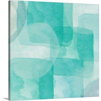 """Beach Glass I"" by Linda Woods Canvas Wall Art"