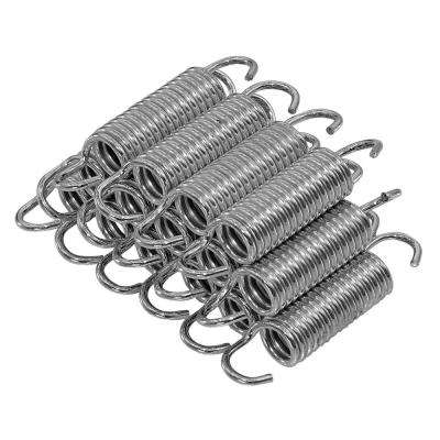 3.5 in. Trampoline Springs, Heavy-Duty Galvanized, Set of 15 (Spring Size Measures From Hook to Hook)