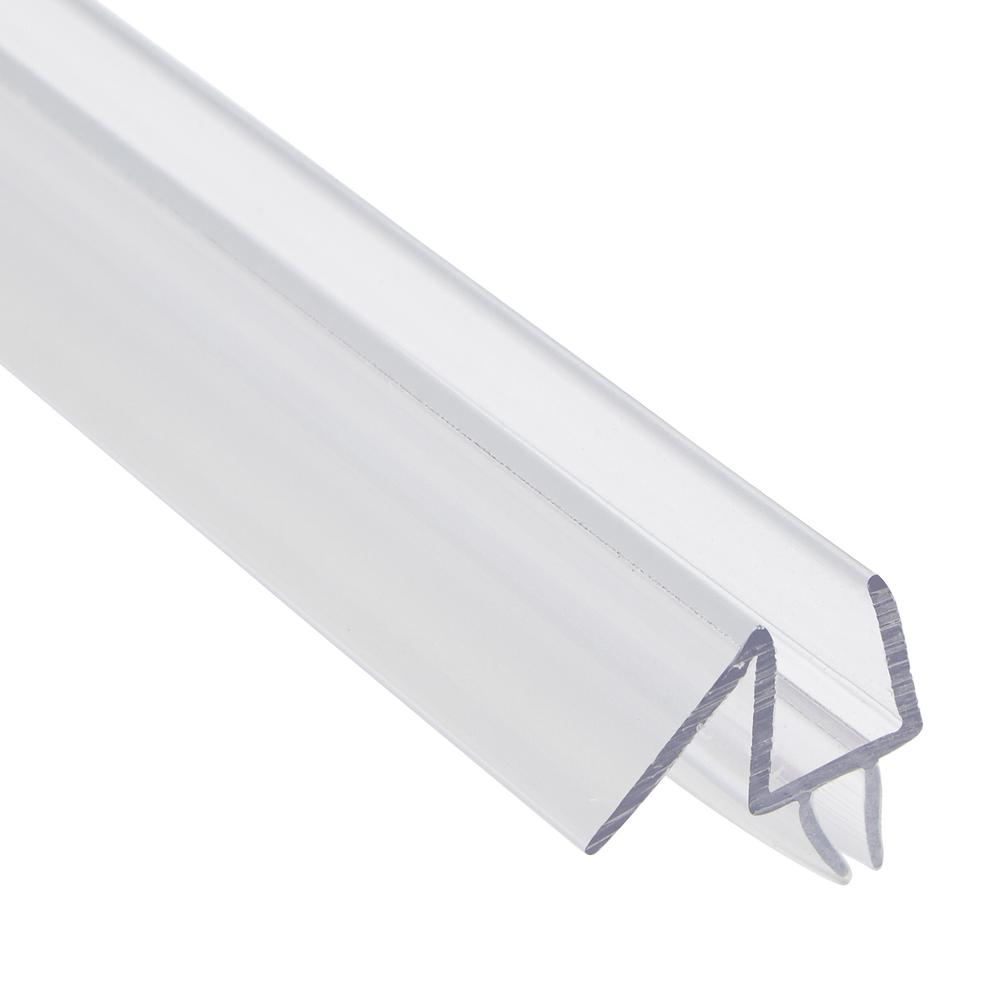 Prime Line 38 In X 36 In Clear Glass Door Bottom Seal Fits