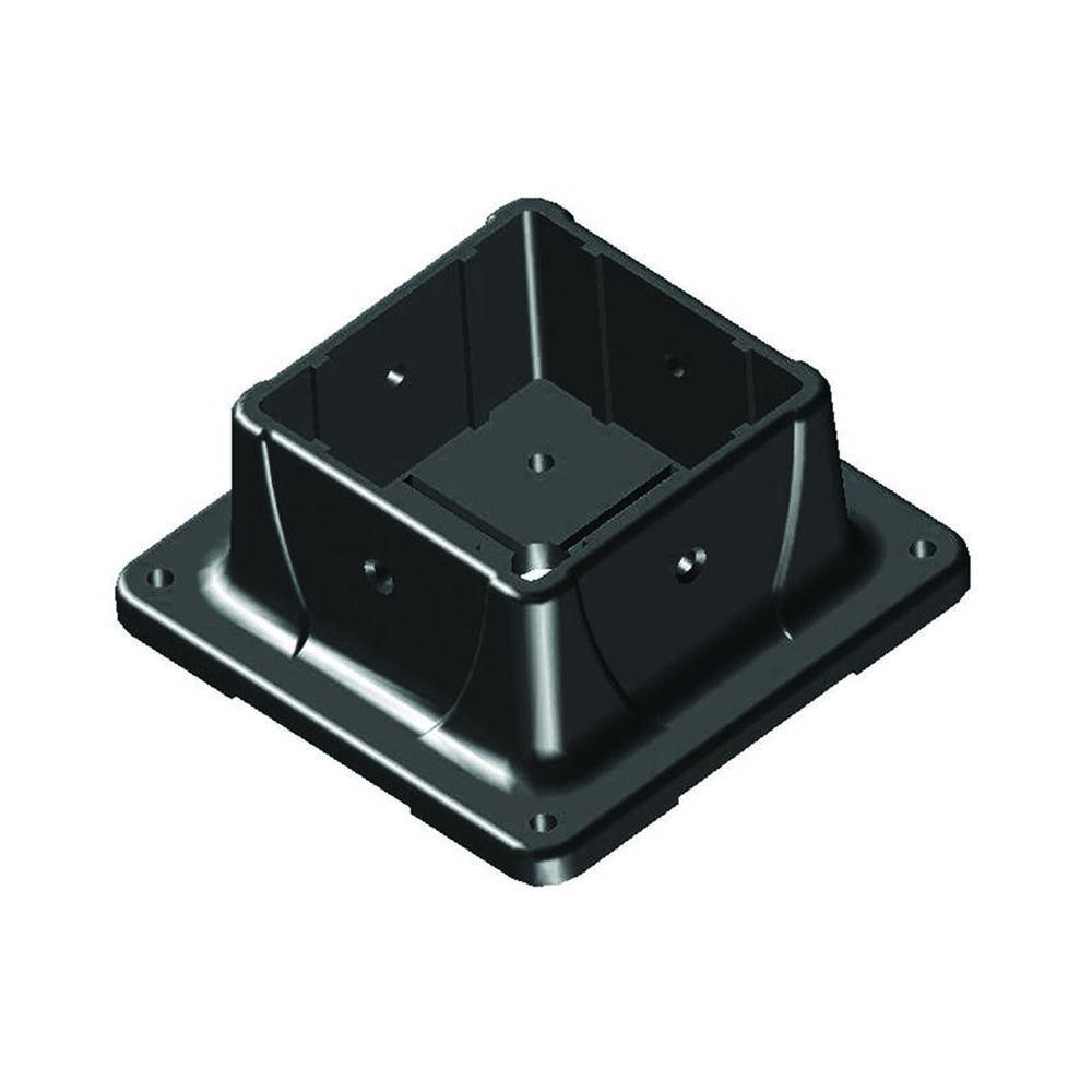 Peak Products 4 In X Plastic Post Anchor 4080 The Home Depot Design Pl An 1 Mount