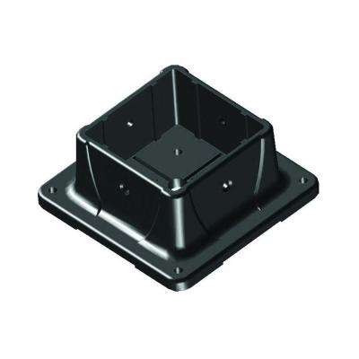 4 in. x 4 in. Plastic Post Anchor