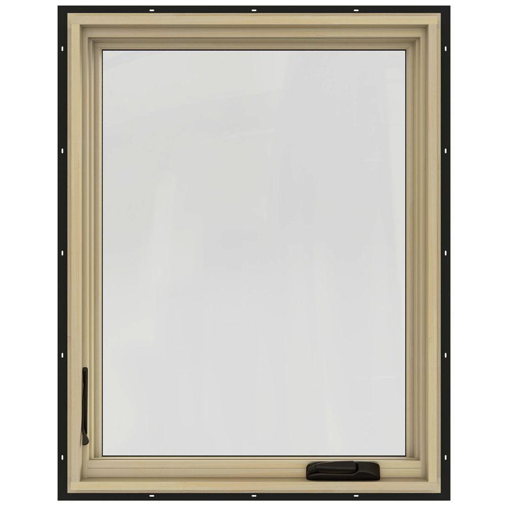 30-3/4 in. x 36-3/4 in. W-2500 Left-Hand Casement Wood Window