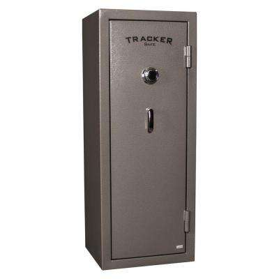 14-Gun Fire-Resistant Combination Gun Safe, Gray