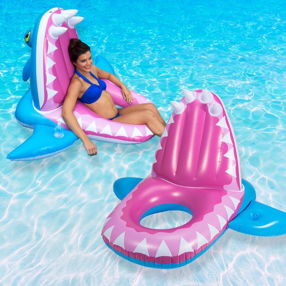 Swim Ways Eaten Alive Shark Pool Float (2-Pack)