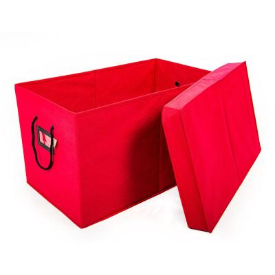 Red Multi-Use Storage Box