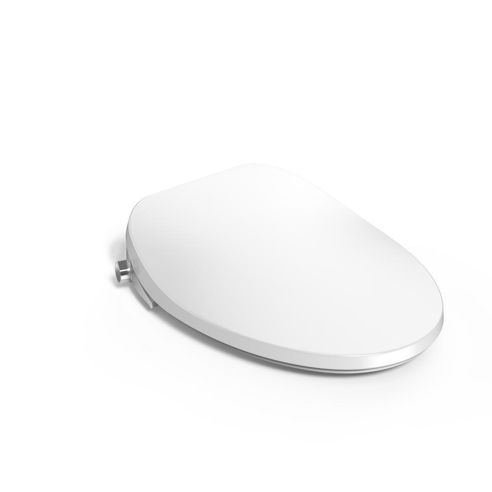 American Standard AquaWash 2.0 SpaLet Electric Bidet Seat for Elongated Toilet in White