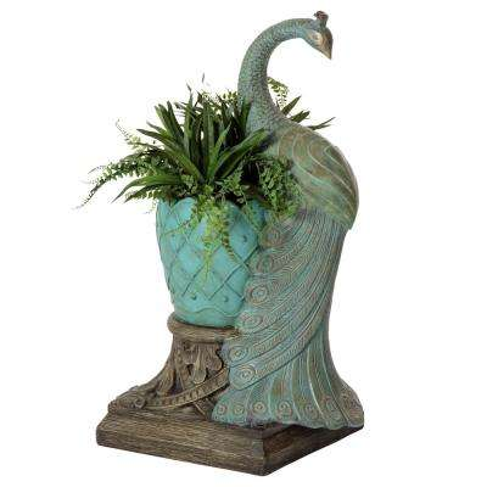 Royal Peacock Planter