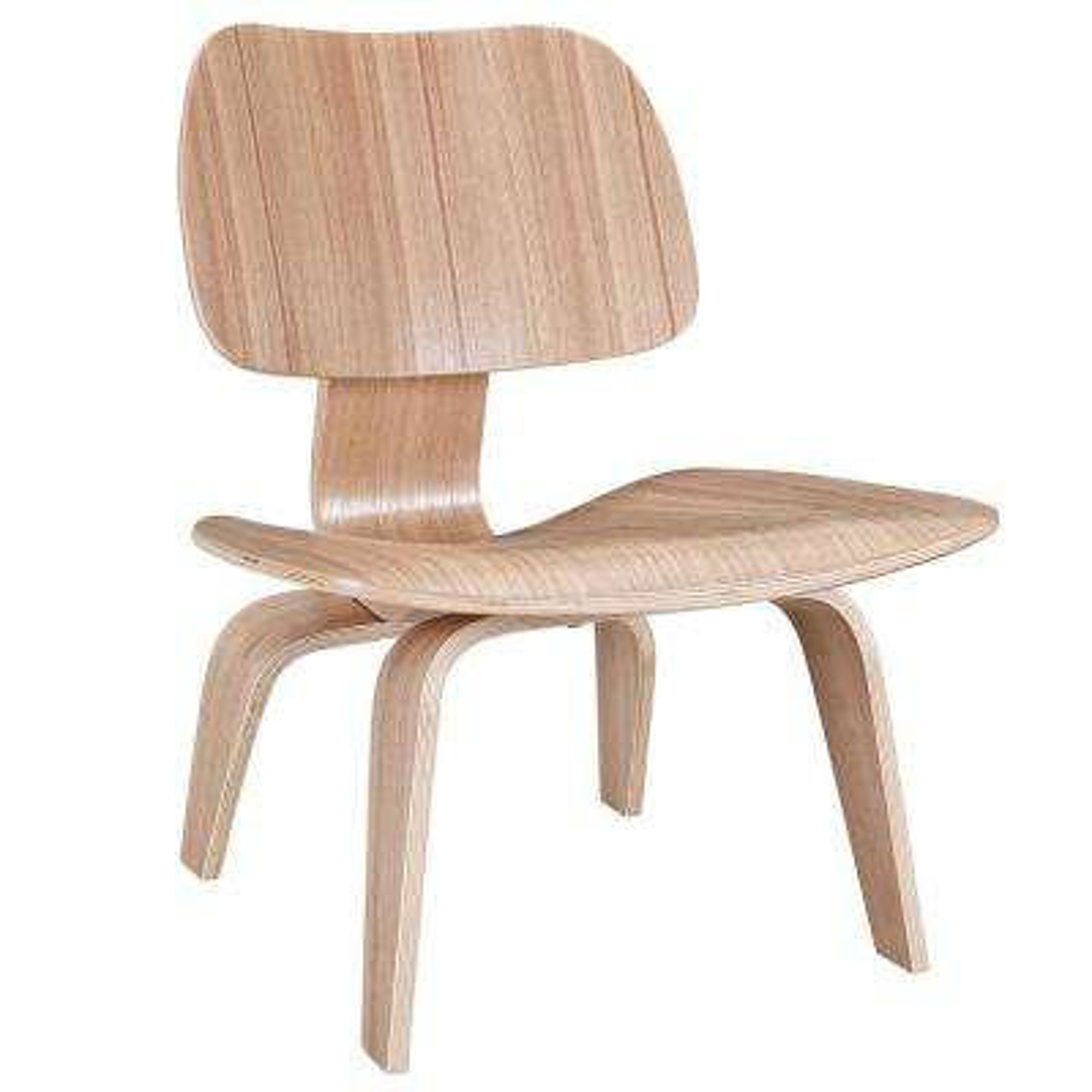 Fathom Natural Wood Lounge Chair