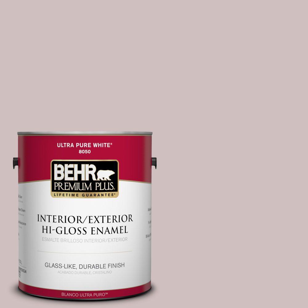 1-gal. #110E-3 Dusky Violet Hi-Gloss Enamel Interior/Exterior Paint