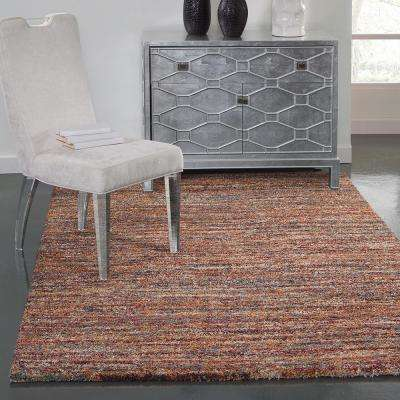 Granada Zira Red 5 ft. 3 in. x 7 ft. 6 in. Area Rug