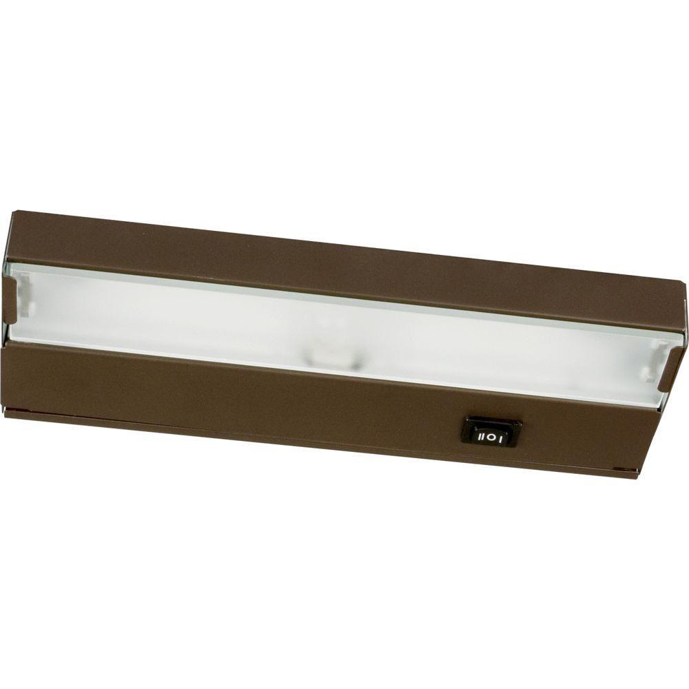 Hide-a-Lite III Collection Antique Bronze 1-Light Under cabinet Fixture