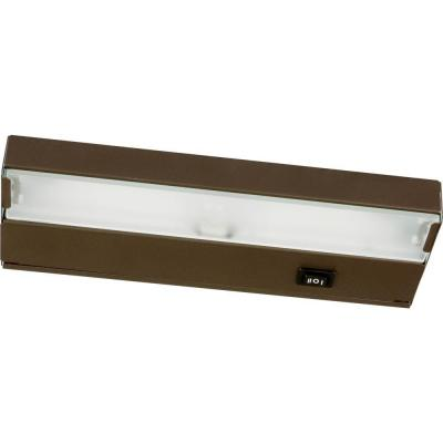 Progress Lighting Hide-a-Lite III Collection Antique Bronze 1-Light Under cabinet Fixture