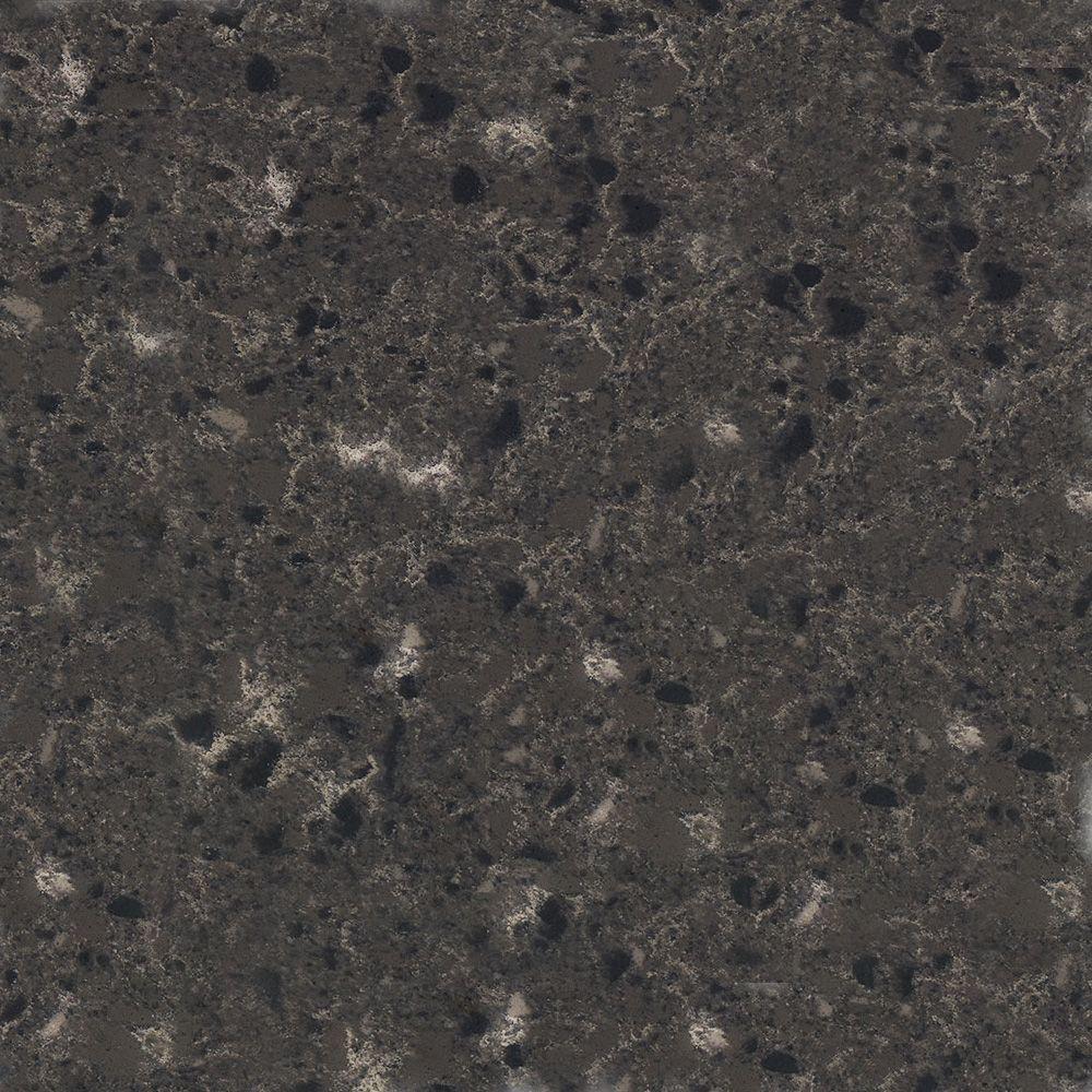4 in. x 4 in. Natural Quartz Vanity Top Sample in Moon Beam