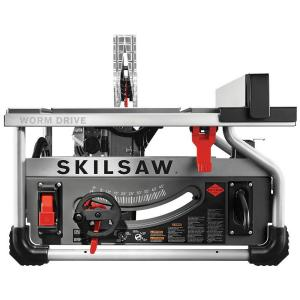 Skilsaw 15 Amp Corded Electric 10 inch Portable Worm Drive Table Saw Kit with 30-Tooth Diablo Carbide Blade by SKILSAW