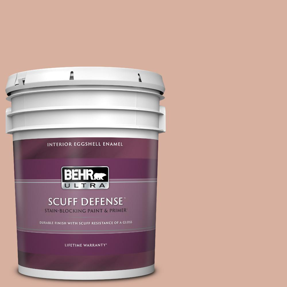 Behr Ultra 5 Gal S180 3 Flowerpot Extra Durable Eggshell Enamel Interior Paint And Primer In One 275005 The Home Depot