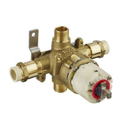 1/2 in. Pressure Balance Rough Valve with CPVC Inlets and Universal Outlets